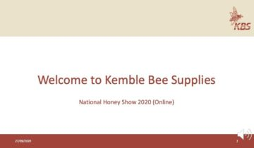 National Honey Show 2020